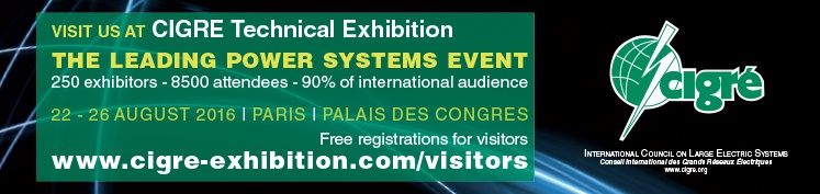 visit our booth n°308 at CIGRE 2016