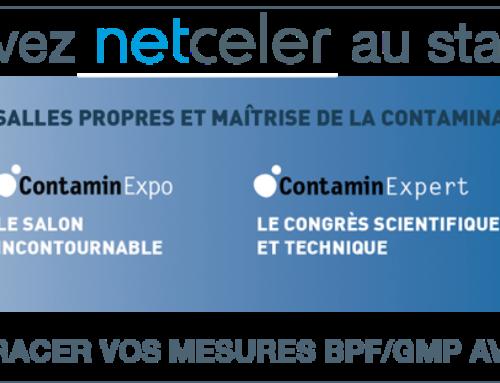 Retrouvez NetCeler à ContaminExpo du 26 au 28 mars 2019 – Paris Porte de Versailles